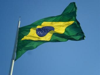 This is a picture of a the Brazilian Flag that symbolizes Brazil Bribe Whistleblowers and the need to expose corruption.