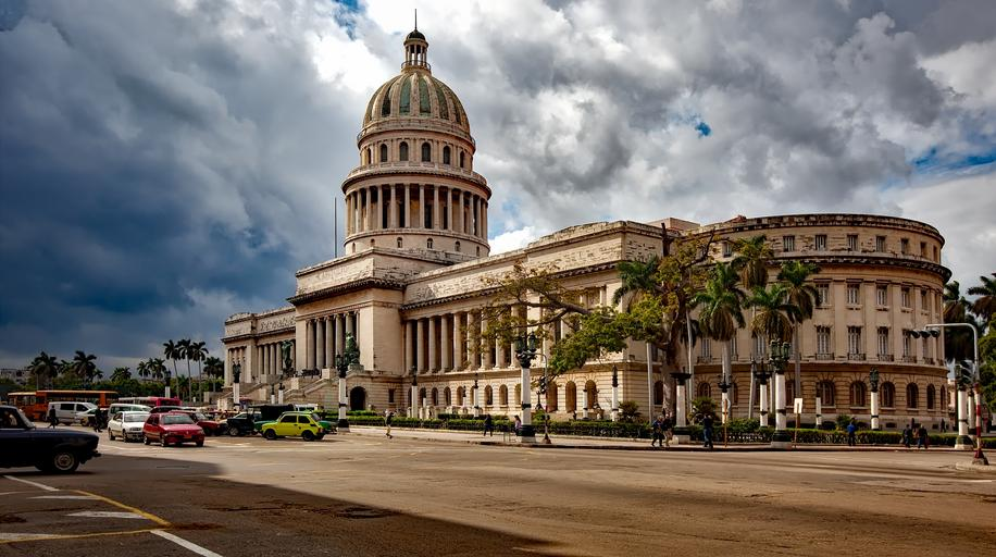 This is a picture of a the Cuban Capital Building that symbolizes Justice for Cuba Whistleblowers and the need to expose corruption.