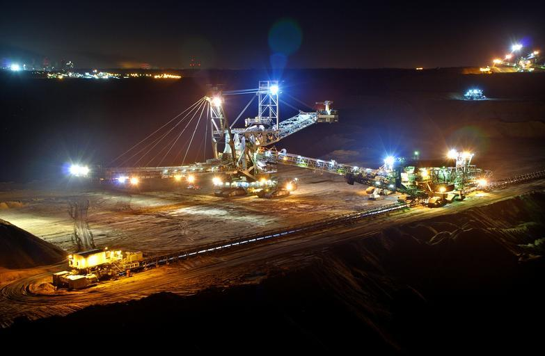 This is a picture of an international mining operation that embodies the need for CFTC and SEC regulation.